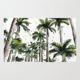 Palm-trees Rug