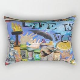 Fun by Seattle Artist Mary Klump Rectangular Pillow