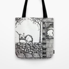 Impossibly Brave Tote Bag