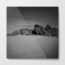 Dark Volcano Metal Print