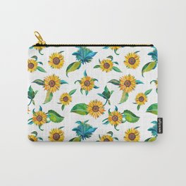Sunflowers pattern Carry-All Pouch