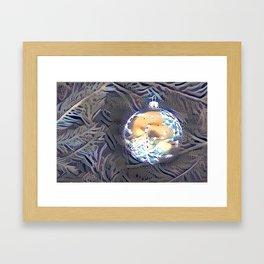 Christmas energy. Framed Art Print