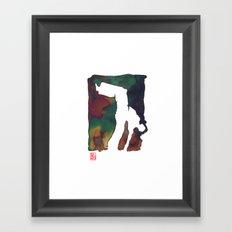 Capoeira 424 Framed Art Print
