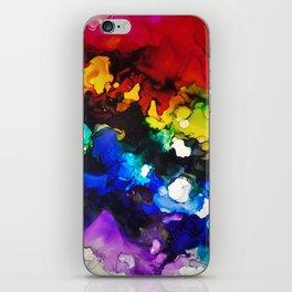 Fractured Rainbow iPhone Skin