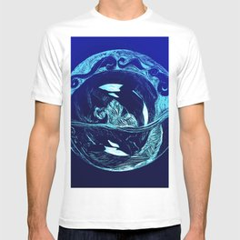 Harmony within the Orca Yin&Yang T-shirt
