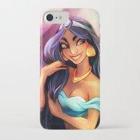 gossip girl iPhone & iPod Cases featuring Gossip by DrMistyTang