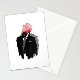 Char Siu Head (roast pork in suit) Stationery Cards