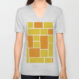 citrus patterns Unisex V-Neck