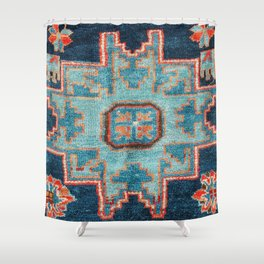 Karabakh  Antique South Caucasus Azerbaijan Rug Print Shower Curtain