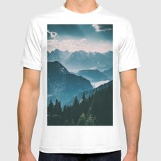 Landscape of dreams #photography Mens Fitted Tee White MEDIUM