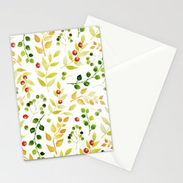 Branches and Leaves 2 Stationery Cards