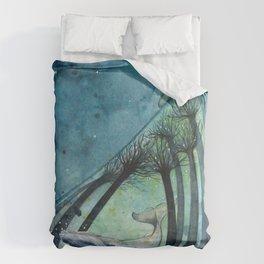 Ocean's lullaby Duvet Cover