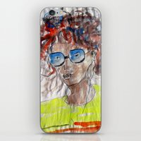 model iPhone & iPod Skins featuring Model by art dun (anup)
