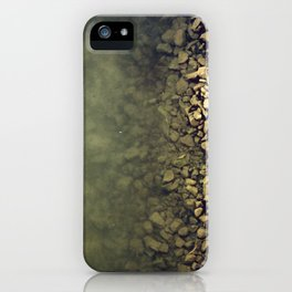 Rocks and water iPhone Case