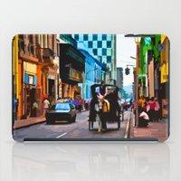 peru iPad Cases featuring Lima, Peru - Around town by Liesl Marelli