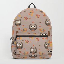 Fall Owl Backpack