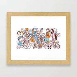 Chain Gang ©Josh Quick  Framed Art Print