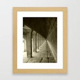 Corridors Framed Art Print