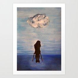Find me inside every heartbeat Art Print