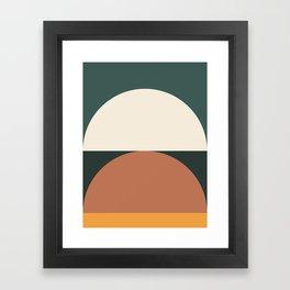 Abstract Geometric 01E Framed Art Print
