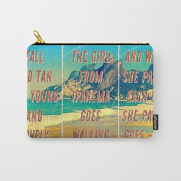 Girl from Ipanema – Triptych – A Hell Songbook Edition Carry-All Pouch