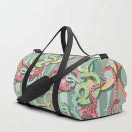 Snakes pattern 002 Duffle Bag