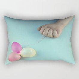 Emotional letdown Rectangular Pillow
