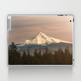 Mount Hood Vintage Sunset - Nature Landscape Photography Laptop & iPad Skin