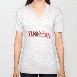 yu fencing Unisex V-Neck