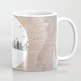 Cairo, Egypt (Giza), Africa City Skyline Illustration Drawing Coffee Mug