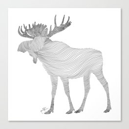 Elk Theraphy Canvas Print