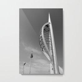 Spinnaker Tower - Portsmouth & Southsea Metal Print