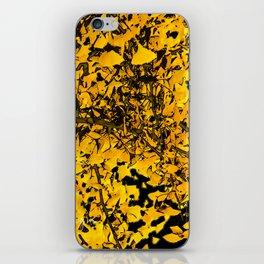 Ginko Leaves In California iPhone Skin