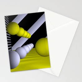 3D-geometry -9- Stationery Cards