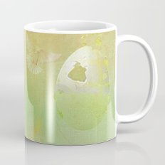 The angel and the dove of the peace Mug