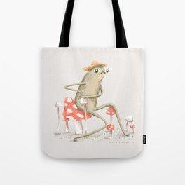 Awkward Toad Tote Bag