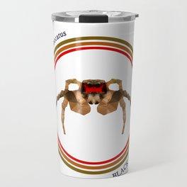 Black & Red Jumper Travel Mug