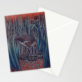 King Rail Stationery Cards