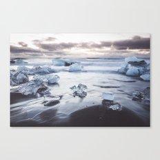 Ice Beach Canvas Print