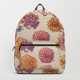 10 Flowers Backpack