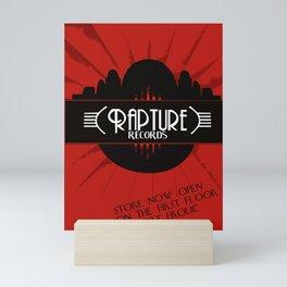 Bioshock Rapture Records Mini Art Print