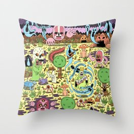 Ghost World Throw Pillow