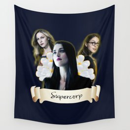 Supercorp flower Wall Tapestry