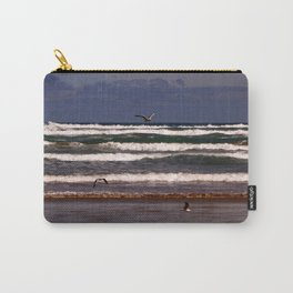 Seagulls Among the Waves Carry-All Pouch