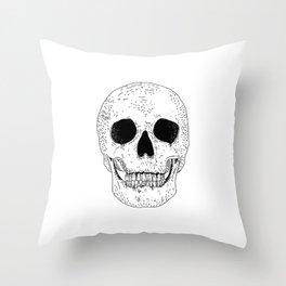 Super Skull Throw Pillow