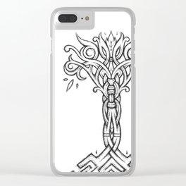 Cymbrogi Tree Clear iPhone Case