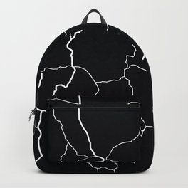 Montana State Road Map Backpack