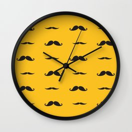 Stache Wall Clock