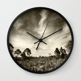 The real Florida  Wall Clock