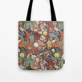 Night parade Tote Bag